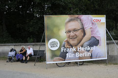 German local elections_make berlin stronger Royalty Free Stock Photos