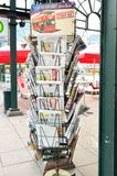 German local newspaper stand Royalty Free Stock Photography