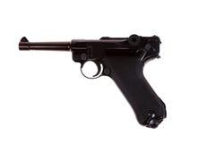 German luger world war 2 pistol Stock Image
