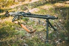 German Machine Gun Of World War II Royalty Free Stock Images