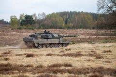 German main battle tank leopard 2 a 6 Stock Photo
