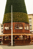 German Market in Broadmead. Bristol, UK - November 9, 2015:  A food stand in the 7th German Christmas Market in Broadmead, Bristol. They are 38 traditional Stock Photos