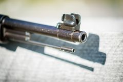 Mauser 98 Rifle - Muzzle View royalty free stock image