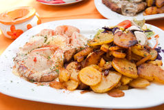 German Meal Royalty Free Stock Photography