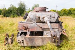 German medium tank PzKpfw IV Royalty Free Stock Photography