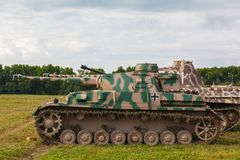 German medium tank PzKpfw IV Royalty Free Stock Image