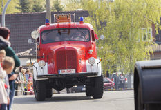 German mercedes benz fire truck oldtimer Royalty Free Stock Photo