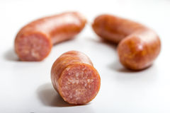 German mettwurst sausage Stock Photo