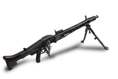 German MG-42. Germany at the WW2 Royalty Free Stock Images
