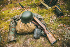German military ammunition of World War II Royalty Free Stock Photography
