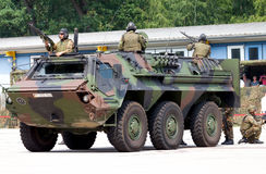 German military armoured personnel carrier, Fuchs Stock Image