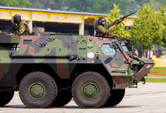German military armoured personnel carrier, Fuchs Royalty Free Stock Images