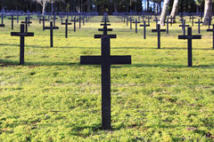 German Military Cemetery Royalty Free Stock Images