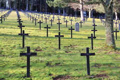 German Military Cemetery Stock Photography