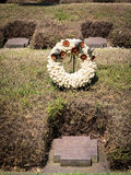 The German Military Cemetery of Costermano , Italy. Royalty Free Stock Photos