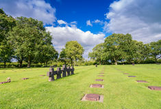 German Military Cemetery and Memorial at La Cambe, Normandy, Fra Stock Photos