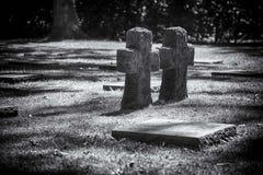 German Military Cemetery Vladslo Stock Image