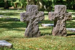 German Military Cemetery Vladslo Royalty Free Stock Photos