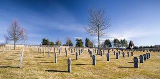 German military cemetery from World war II, Vazec - Slovakia Stock Photos