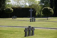 German Military Graves, Mirogoj graveyard in Zagreb Royalty Free Stock Photography