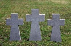 German Military Graves, Mirogoj graveyard in Zagreb Stock Photos