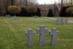 German Military Graves in Zagreb, Croatia Royalty Free Stock Photos