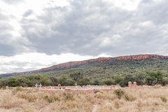 German military graveyard in the Waterberg Plateau National Park Stock Photo