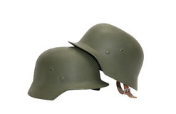 German Military Helmets Royalty Free Stock Image