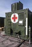 German military hospital container Royalty Free Stock Photography