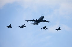 Free German Military Planes And Attack Jets On Berlin Air Show Royalty Free Stock Photos - 70529608