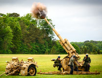 German 88mm Anti-aircraft gun Royalty Free Stock Photo