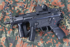 German modern submachine gun Stock Photography