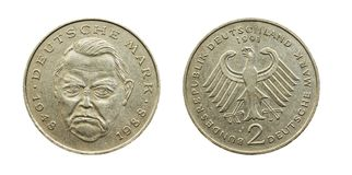 German money (marks) Stock Image
