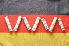 German money Royalty Free Stock Images