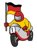 German motorcycle Royalty Free Stock Images