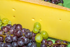 German mountain cheese Stock Images