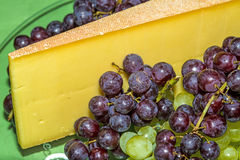 German mountain cheese Stock Photography