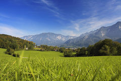 German mountain view Stock Photography