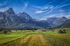 German Mountains Stock Images