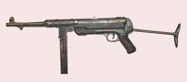 German MP .40  Machine Pistol Royalty Free Stock Images