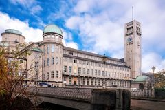 German Museum Deutsches Museum in Munich Stock Photography