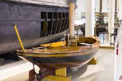 The German Museum of Science and Technology Achievement presents the history of shipbuilding and the development of marine science royalty free stock photo