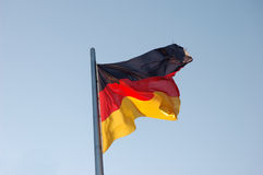 German National Flag Stock Photo