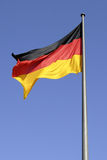 German national flag in Berlin Royalty Free Stock Photos