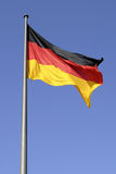 German national flag in Berlin. German national flag in the Government sector of  Berlin Stock Photos