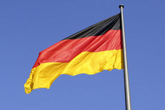 German national flag in Berlin Stock Photos
