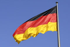 German national flag in Berlin Stock Images