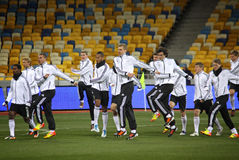 German national football team players Royalty Free Stock Images