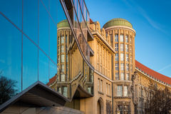 German National Library Leipzig Royalty Free Stock Photography