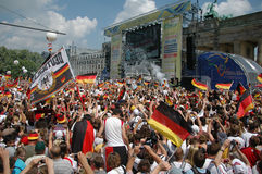 German national soccer team Royalty Free Stock Images